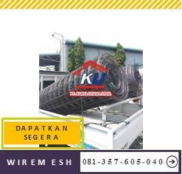 Harga Wiremesh Surabaya ukuran 2,1 m x 5,4 m Murah dan Ready Stok