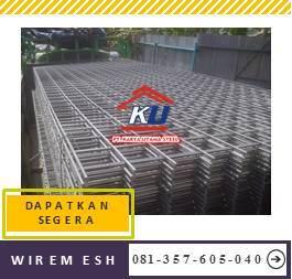 Distributor Wiremesh Ready Stock Sidoarjo Semua Ukuran Lembar Dan Roll