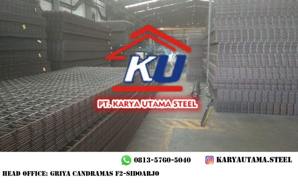 Jual Besi Wiremesh M6 Standar Nasional Surabaya